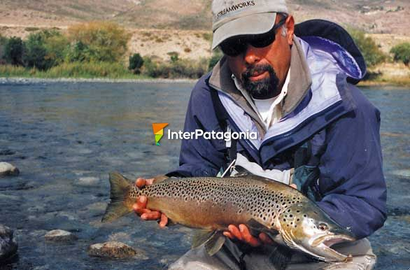 Fly-fishing - San Carlos de Bariloche
