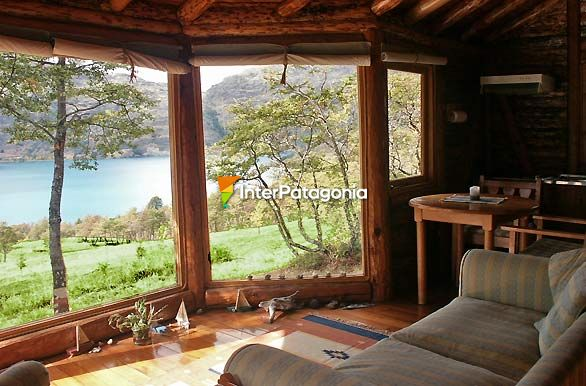 Un living con vista al paraso - Chile Chico / Lago G. Carrera