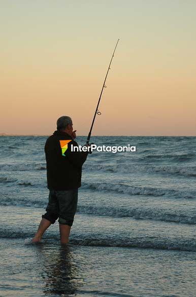 Pesca en la playa - Las Grutas / San Antonio Oeste, Autor: Jorge ... Sanantonio