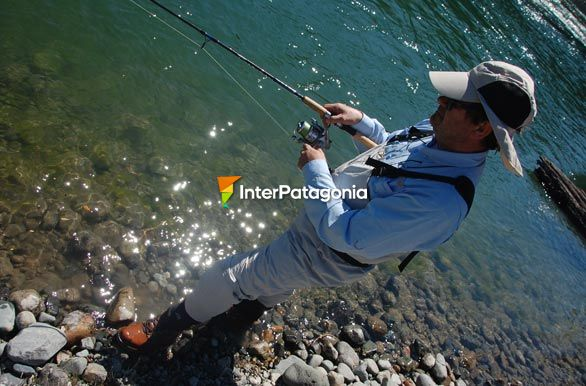 Pablo fishing - Alto Palena,