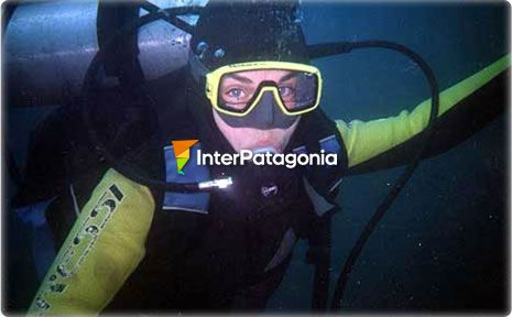 Diving at Lake Nahuel Huap