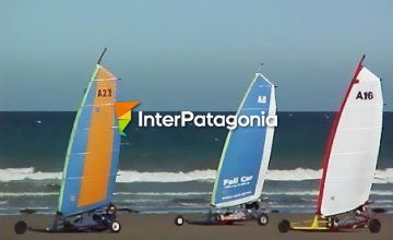 Windcars in Rada Tilly
