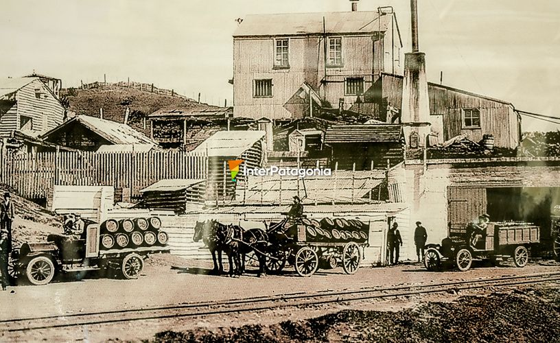 The legendary Austral beer brewery