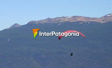 Paragliding at Mount Piltriquitrón