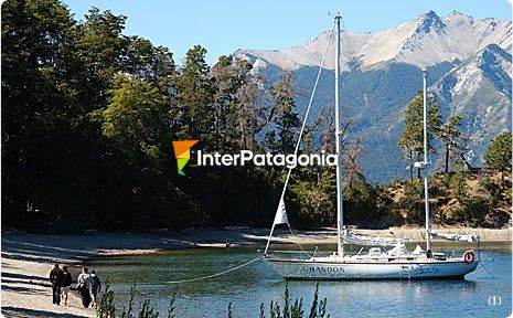 Excursion in Lake Nahuel Huapi