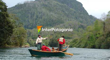 Fly-fishing in the Calcurrupe River
