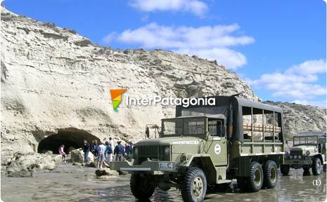 4 x 4 vehicle tours in Las Grutas