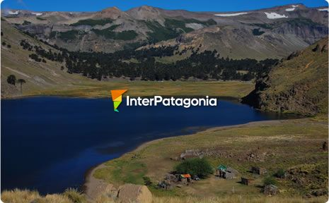 Lake Hualcup�n in Caviahue