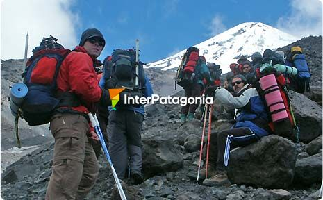 The Challenge to Climb the Lanín Volcano
