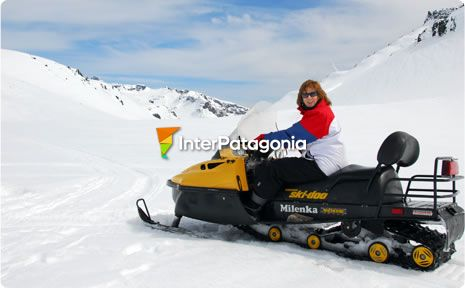 Snowmobile Tour in Caviahue