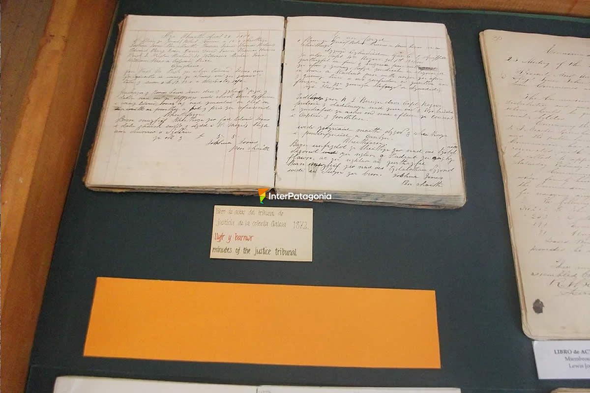 Original record book of the Court of Justice of Colonia del Chubut