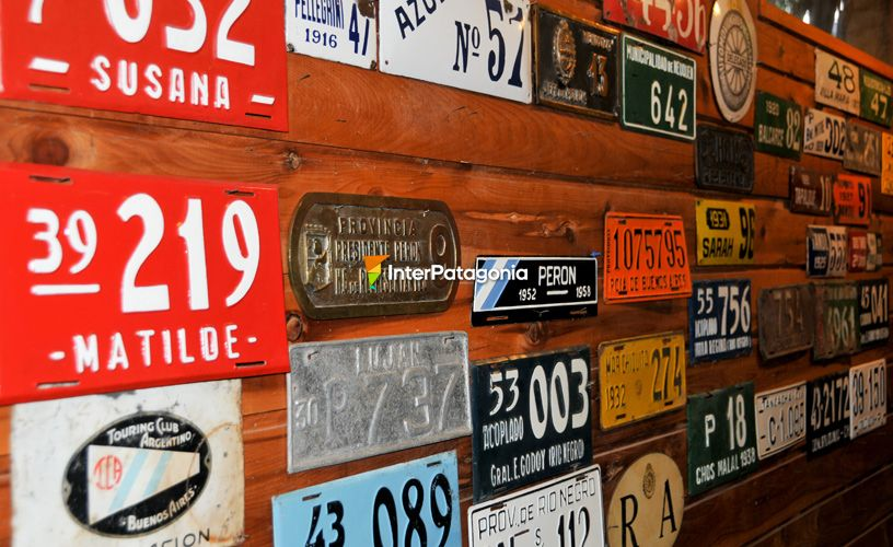 Licence Plates and motorbikes original