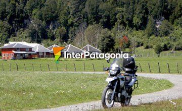 Motorcycle Touring towards Puyehue