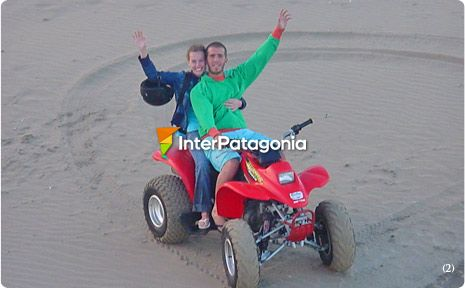 Quad Cycling in Las Grutas