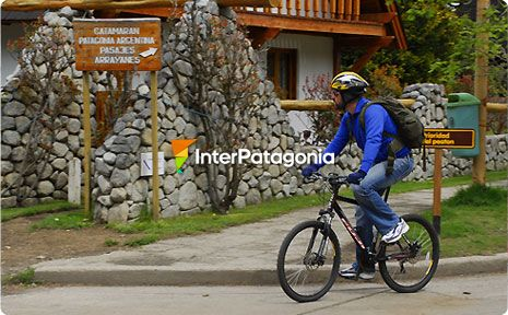 Cycling around Villa La Angostura