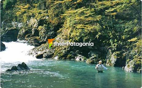 Fly-fishing with Calafate Fishing