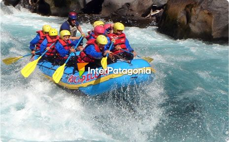 Rafting on the Fuy River - Panguipulli