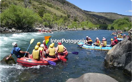 River Rafting in the Alumin� River