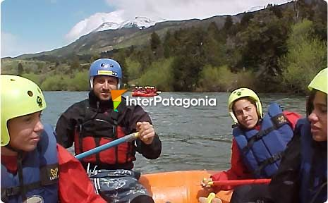 Rafting on the Corcovado River