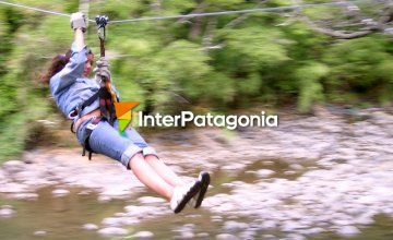 Zip-lining Park in the Outskirts of Puc�n