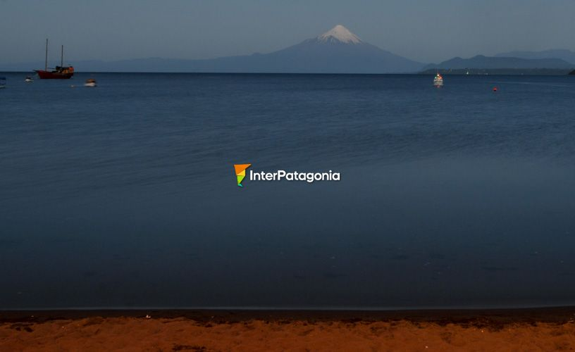 The waters of Lake Llanquihue