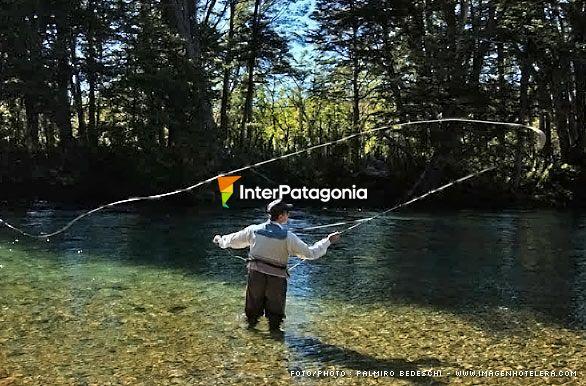 lanzamiento   pesca con mosca en patagonia autor palmiro bedeschi