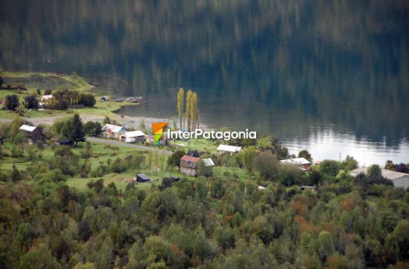 Quiet waters from the viewpoint - Puyuhuapi,