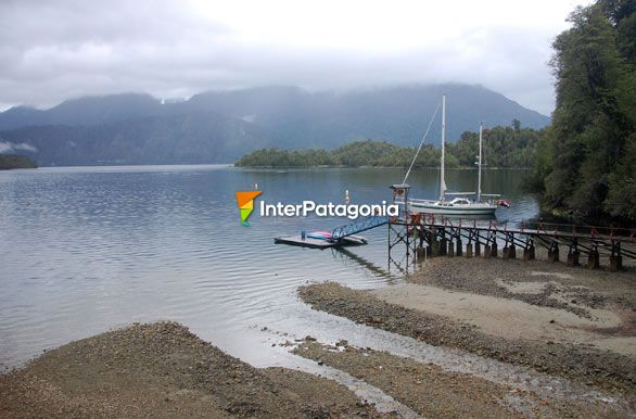 View of the bay, Puyuhuapi Lodge - Puyuhuapi,