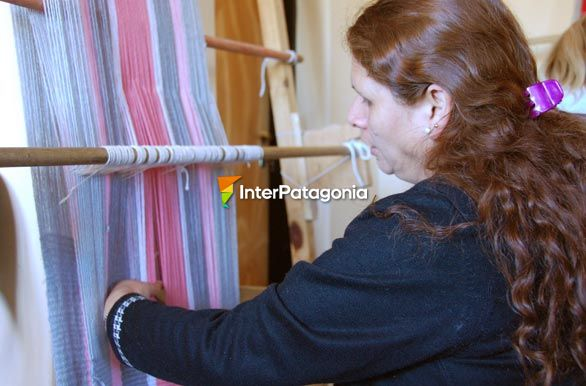 Craftswoman at the House of Culture - R�o Mayo