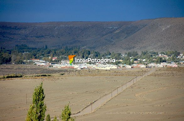 R�o Mayo from the heights - R�o Mayo