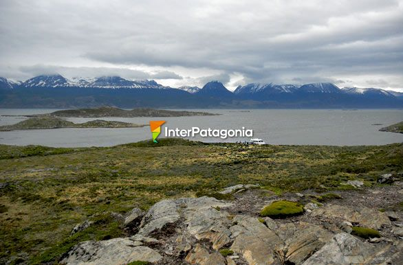 Gable, the largest island on the Beagle Channel - Ushuaia