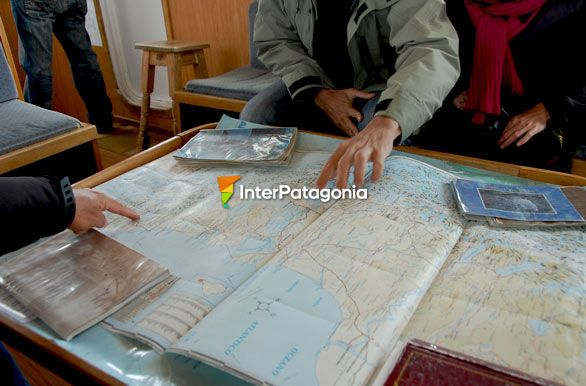 Looking at the map of Argentina