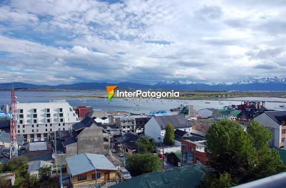 Postcard of the Ushuaia bay - Ushuaia,