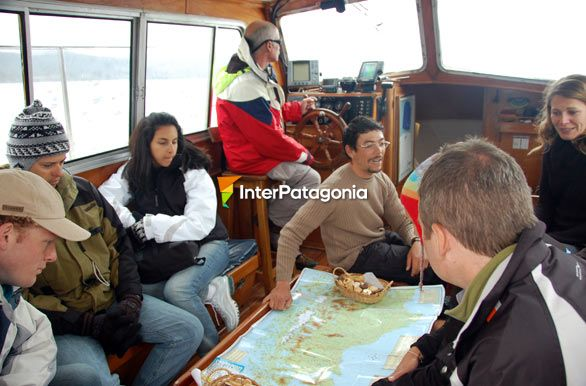 Looking at the map of Argentina - Ushuaia,